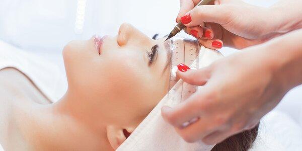 Permanentný make-up obočia v štúdiu Abimopec