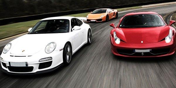 Super rýchla jazda na tých najluxusnejších autách! Palivo v cene!
