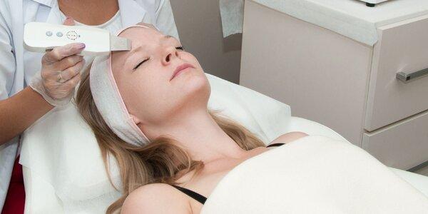 Ultrazvukové čistenie a hydratácia pleti