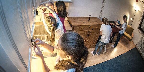 Napínavá escape room Tajomný byt
