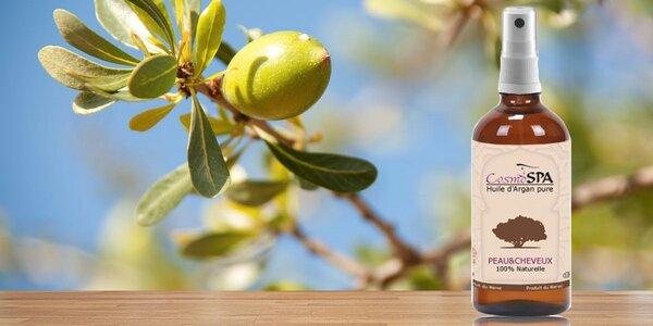 100 % BIO arganový olej na vlasy i pleť