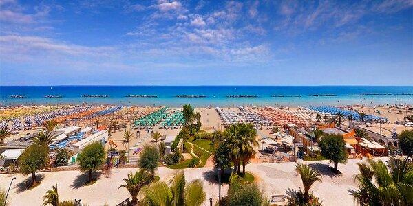 Víkendové kúpanie - Taliansko Palmová riviéra