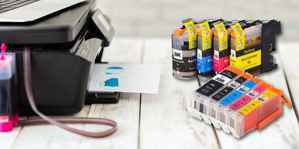 Atramentové kazety alebo laserový toner do vašej tlačiarne