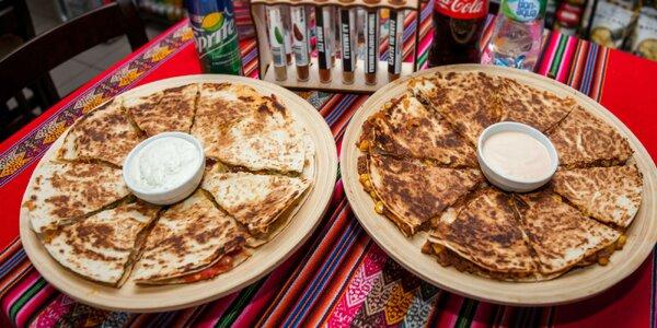 Quesadilla: pizza made in Mexico