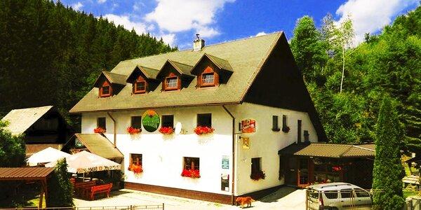 Leto v horskom hoteli Eva Mária