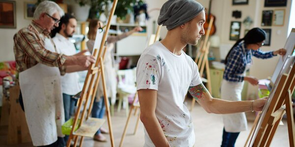 Umelecké kurzy pre dospelých v Galérii Artšrot