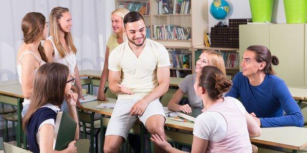Mesačný kurz angličtiny s native speakrom