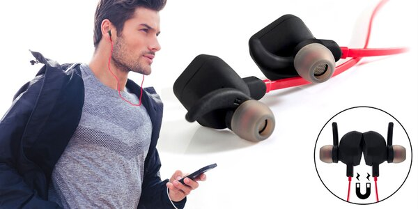 Bluetooth slúchadlá C-TECH s mikrofónom