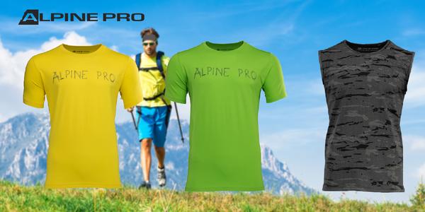 Pánske tričká Alpine Pro RYKER alebo tielko Alpine Pro ROD