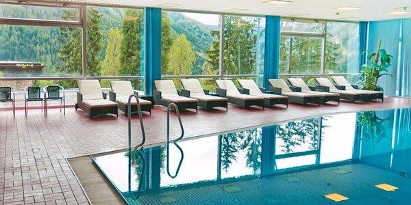 Rakúske Alpy s polpenziou a neobmedzeným bazénom