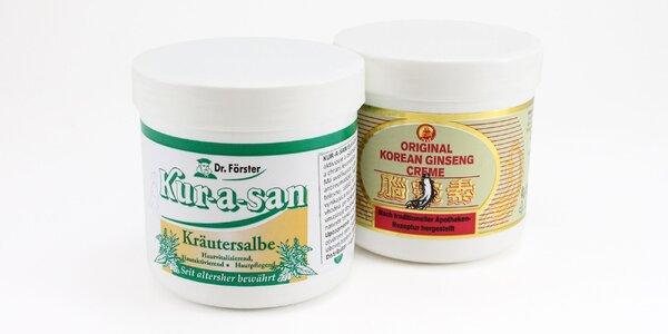 Bylinná masť KUR-A-SAN či ženšenový krém