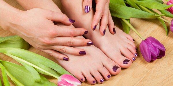Klasická manikúra či gelové nechty na nohách