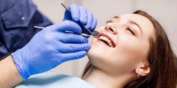 Dentálna hygiena alebo vstupný balíček
