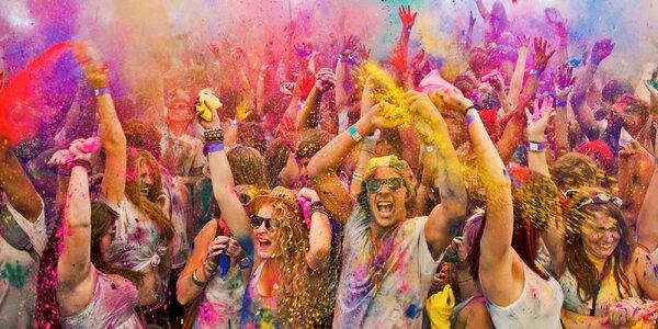 HOLI Open Air v Prahe: Zažite šialenstvo farieb