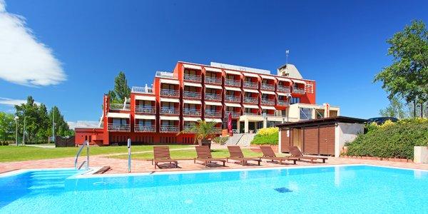Letný pobyt vo wellness hoteli pri Balatone