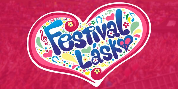 Vstupenka na festival plný lásky pre dvoch