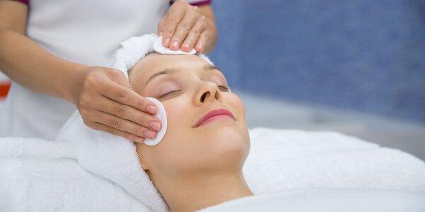 Ošetrenia tváre s možnosťou masáže