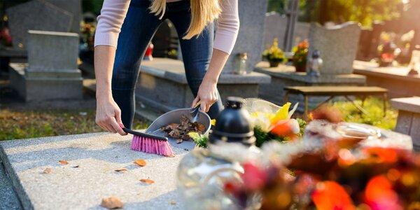 50 % zľava na čistenie hrobov v Košiciach