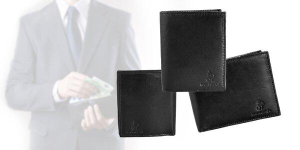 Pánske kožené peňaženky MONOPOL