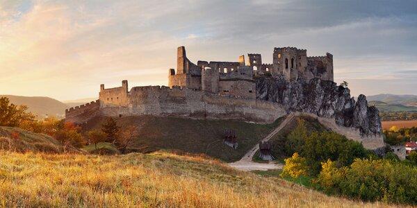 Vstup na hrad Beckov - aj pre celé rodiny!