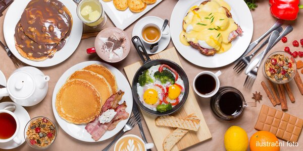 Výdatné raňajky: All you can eat aj s nápojom