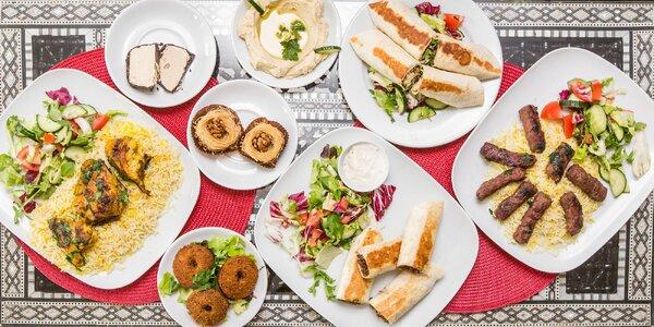 Arabské špeciality - trojchodové menu. Aj rozvoz!
