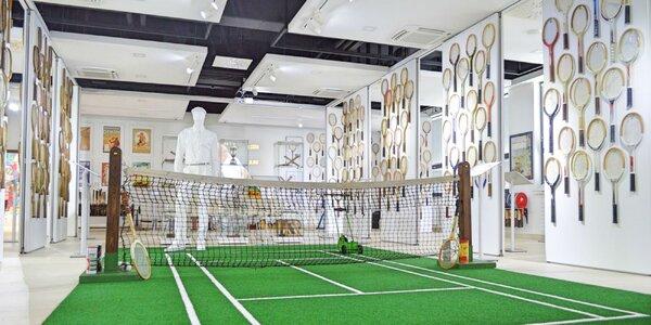 Vstupenka do tenisového múzea - aj skupiny