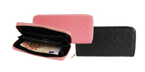Elegantná dámska peňaženka na zips