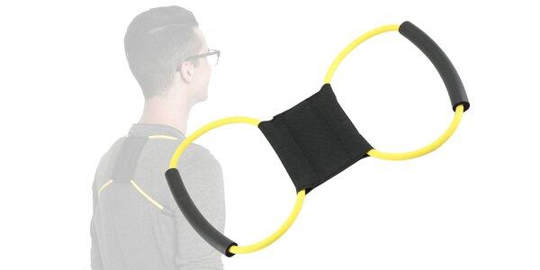 Posilňovač na chrbát aj na cvičenie