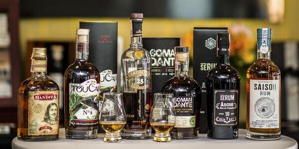 Exkluzívna degustácia svetových rumov