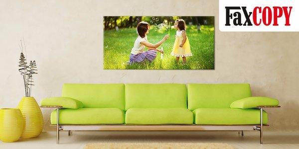 Štýlový obraz na plátne z vlastnej fotografie vo fotografickej kvalite