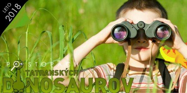 Detský tábor plný dinosaurov v DINOLANDII