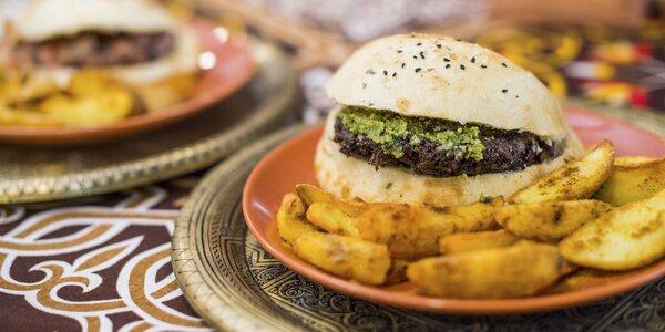 Egyptské street food menu v Starom meste