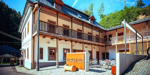 Leto v Štiavnických vrchoch v novom štýlovom Wellness Penzióne Banský dom***
