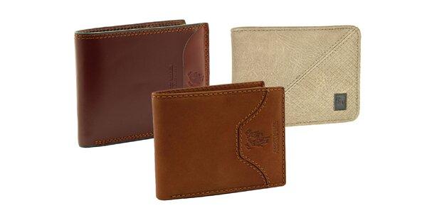 Praktické pánske peňaženky