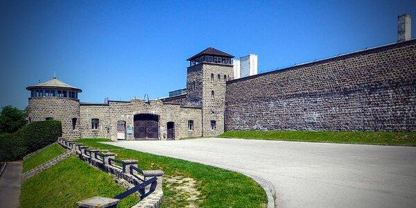 Prehliadka koncentračného tábora Mauthausen