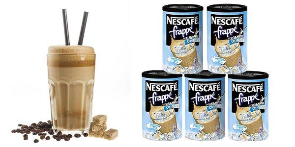 Ľadová káva Nescafé frappé: pravé letné osvieženie