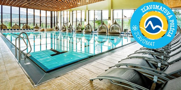 Úžasný Hotel Pieris*** Podbanské so vstupom do TOP wellness Grand hotela Permon****