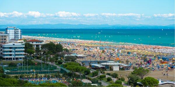 Víkendové kúpanie pri mori v talianskom Bibione!