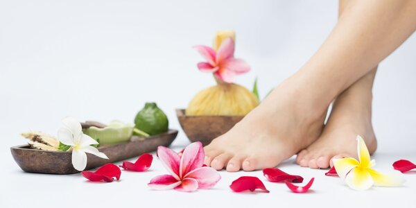 Medicinálna a mokrá alebo wellness pedikúra