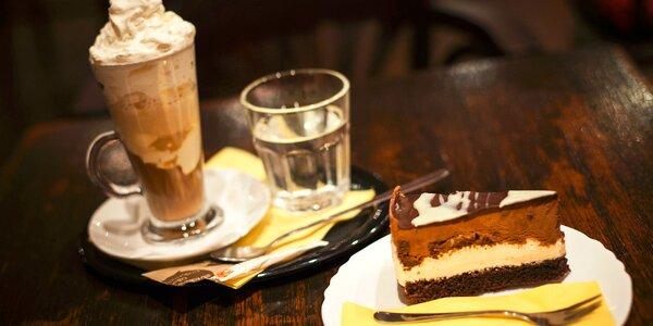Káva alebo čaj s koláčikom v Kafe Scherz
