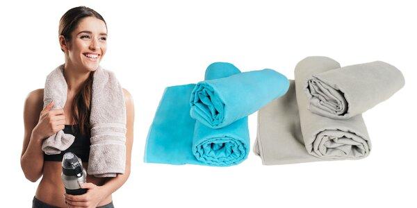 Sada dvoch rýchloschnúcich fitness uterákov