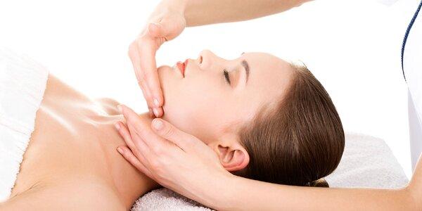 Manuálna lymfodrenáž - masáž celého tela, tvár a dekolt
