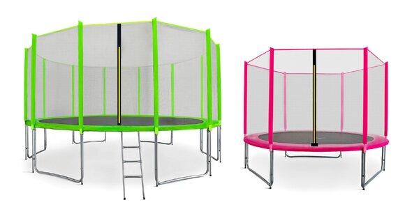 Obrovský výber trampolín od českého výrobcu