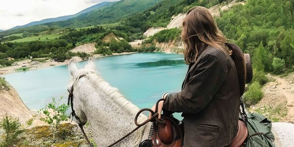 Jazda na koni alebo poníkovi: Turčianska kotlina