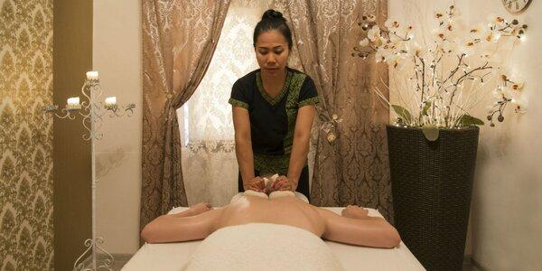 Tradičné liečivé thajské masáže