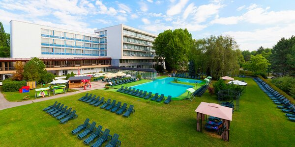 Relax v Spa Hotel Grand Splendid*** v kúpeľných Piešťanoch
