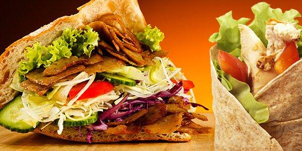 Vynikajúci Kebab alebo tortilla