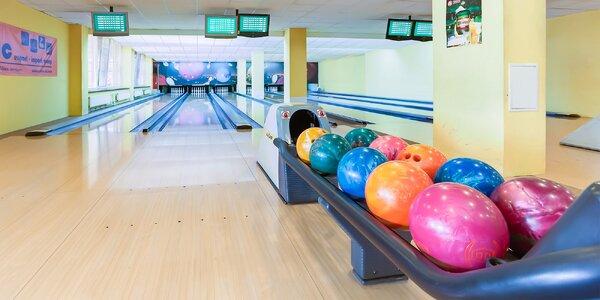 Bowling - zábava až pre 6 osôb v hoteli Lineas!