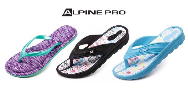 Dámske aj UNISEX žabky Alpine Pro